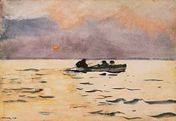 Homer-Rowing_Home