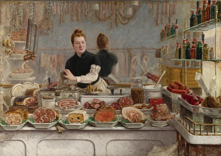 E-J_Dambourgez - Une_boutique_de_charcuterie (1873)